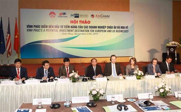 越南永福省——欧洲和美国企业潜在投资目的地 hinh anh 1