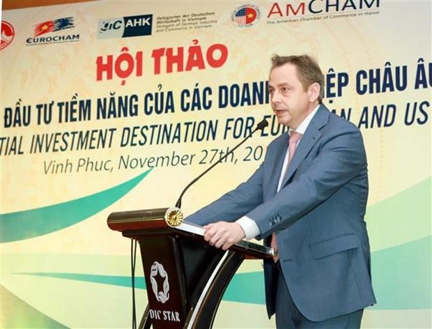 越南永福省——欧洲和美国企业潜在投资目的地 hinh anh 3