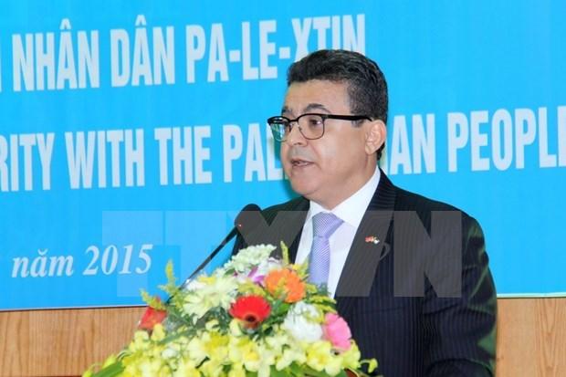 越南支持巴勒斯坦人民的正义事业 hinh anh 1
