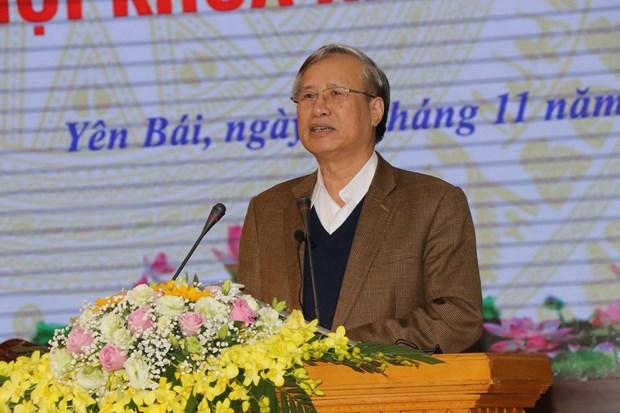 越共中央书记处常务书记在安沛省开展接待选民活动 hinh anh 1