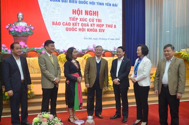 越共中央书记处常务书记在安沛省开展接待选民活动 hinh anh 2