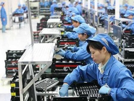 越南手机和电脑出口额突破770亿美元大关 hinh anh 1
