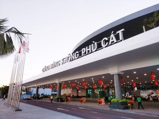 平定省扶吉机场于12月底开始迎接国际航班 hinh anh 2