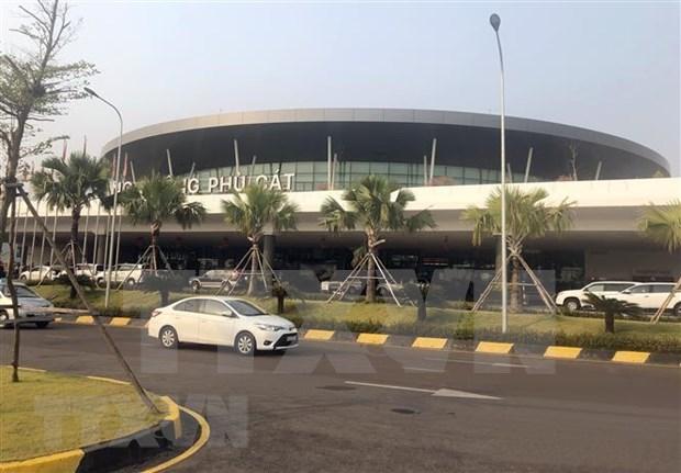 平定省扶吉机场于12月底开始迎接国际航班 hinh anh 1
