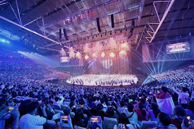 第30届东南亚运动会正式开幕 hinh anh 1