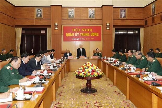 中央军委对2019年国防军事工作进行总结 hinh anh 1
