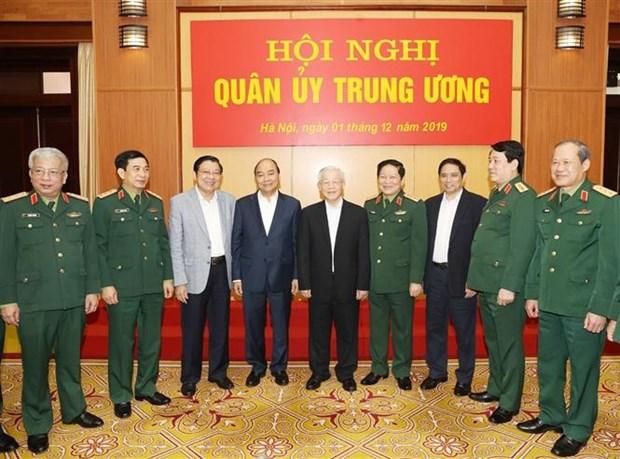 中央军委对2019年国防军事工作进行总结 hinh anh 3