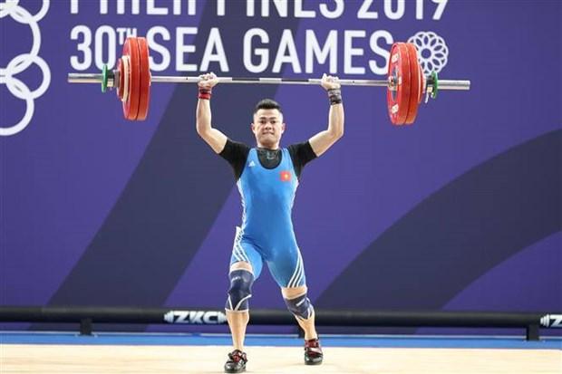第30届东南亚运动会:第一比赛日越南在奖牌榜上排名第二 hinh anh 1