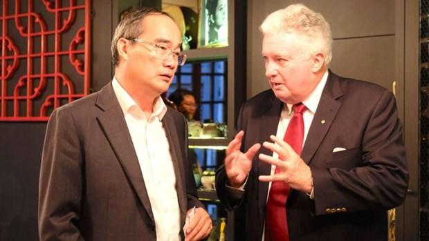 胡志明市市委书记对澳大利亚进行特别访问 hinh anh 1