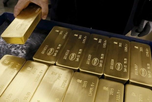 12月2日越南国内黄金价格略减 hinh anh 1