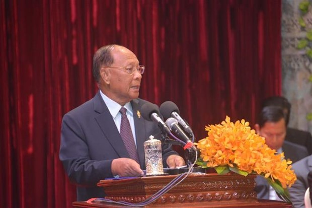 柬埔寨救国团结阵线成立41周年庆典隆重举行 hinh anh 1
