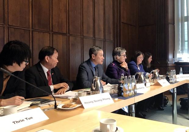 越南驻德国大使:越德医疗卫生领域合作潜力巨大 hinh anh 1