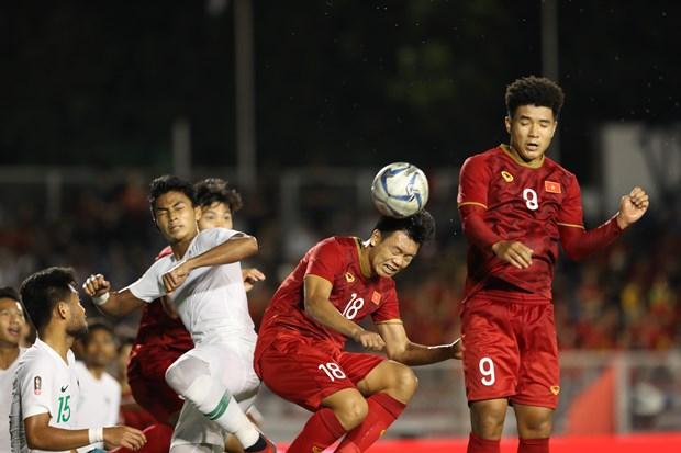 2019年东南亚运动会男子足球项目:印尼男足主教练希望和越南队在决赛中再见 hinh anh 1