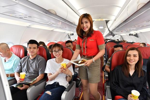 越捷航空公司即将开通胡志明市至泰国芭提雅直达航线 hinh anh 1