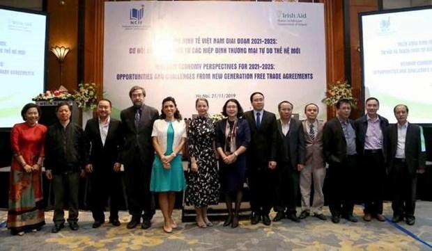 越南经济2021至2025:来自新时代自贸协定的机会和挑战 hinh anh 1