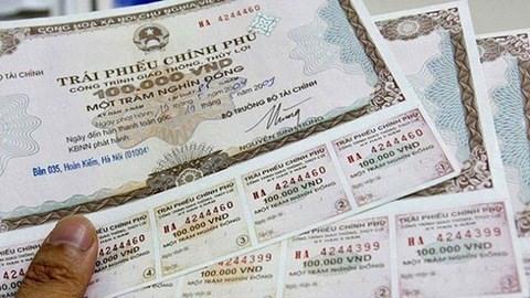 越南政府债券发行:11月成功筹资26万亿越盾 hinh anh 1