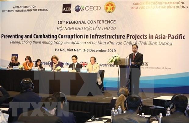加强亚太地区基础设施项目发展中的廉洁透明 hinh anh 1