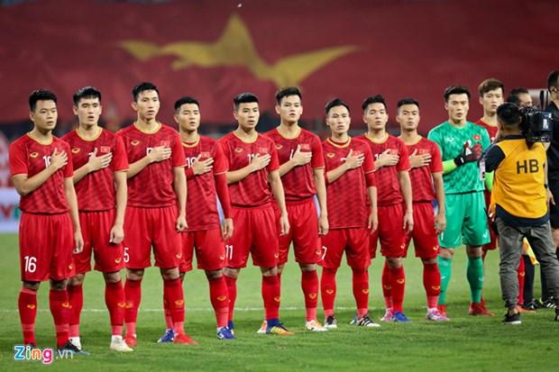 政府总理阮春福致信鼓舞国家男足队主教练朴恒绪和越南体育代表团 hinh anh 2