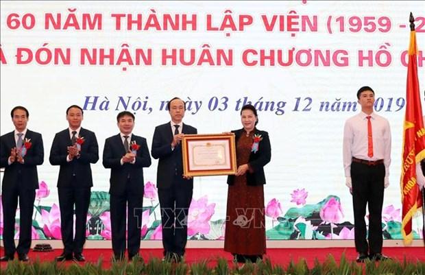阮氏金银:越南共产党和国家始终关注水利领域的发展 hinh anh 1
