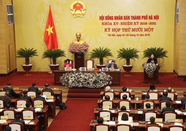 河内市第十五届人民议会第11次会议今日开幕 hinh anh 3