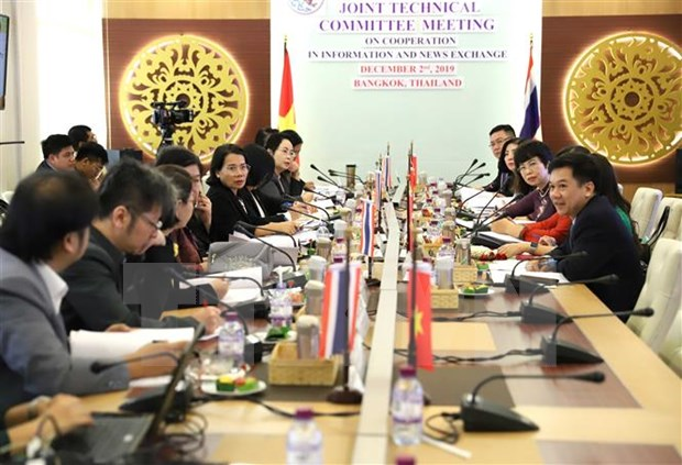 越通社与泰国公共关系部促进合作 提升对外通讯报道工作质效 hinh anh 1