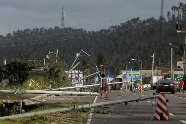 """台风""""北冕""""来袭菲律宾遇难者已升至10人 hinh anh 1"""