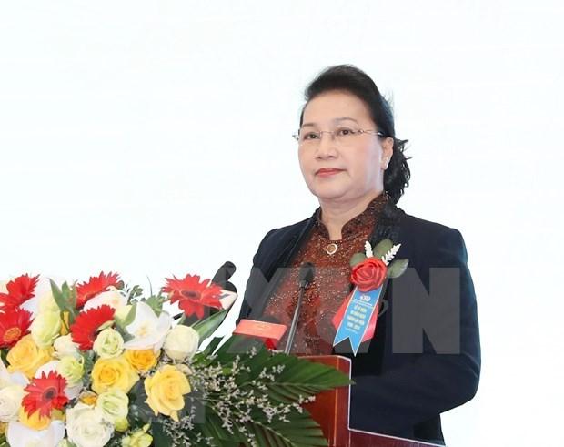 越南国会主席阮氏金银将对俄罗斯和白俄罗斯进行正式访问 hinh anh 1