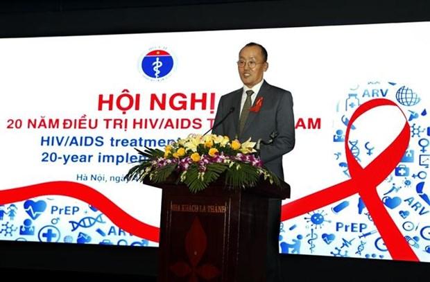 每年越南有万余名艾滋病病毒感染者接受抗逆转录病毒治疗 hinh anh 2