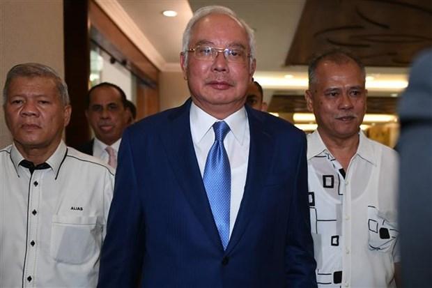 马来西亚前总理纳吉布出庭自辩 hinh anh 1