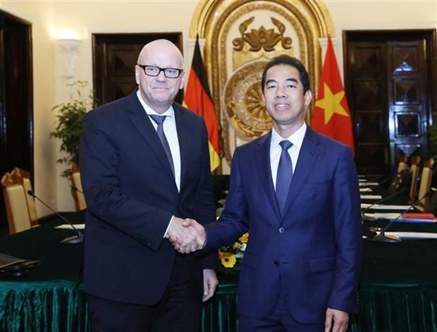 德方希望将越德两国战略伙伴关系迈入新发展阶段 hinh anh 1