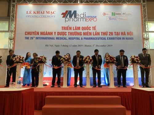 18个国家和地区参加第26届越南国际医药制药、医疗器械展览会 hinh anh 1