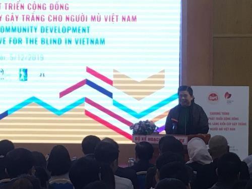 国会副主席丛氏放:实现可持续发展 不让任何人掉队 hinh anh 1