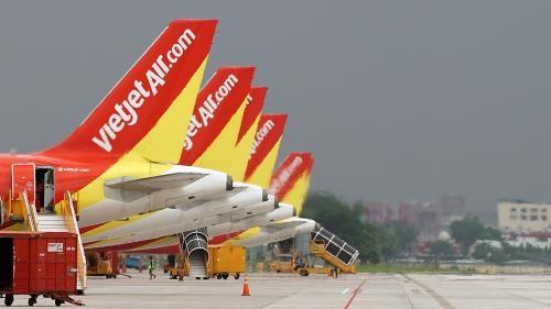 越捷航空公司在农历春节期间将增加近1200趟航班 hinh anh 1