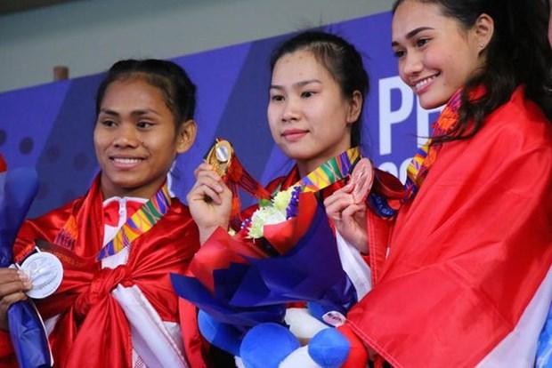 第30届东南亚运动会:越南班卡苏拉比赛项目获得4枚奖牌 hinh anh 1