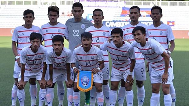 第30届东南亚运动会:柬埔寨U22足球队首次挺近半决赛 洪森总理致辞祝贺 hinh anh 1