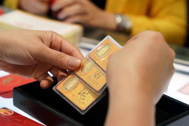 12月5日越南国内黄金价格继续略增 hinh anh 1
