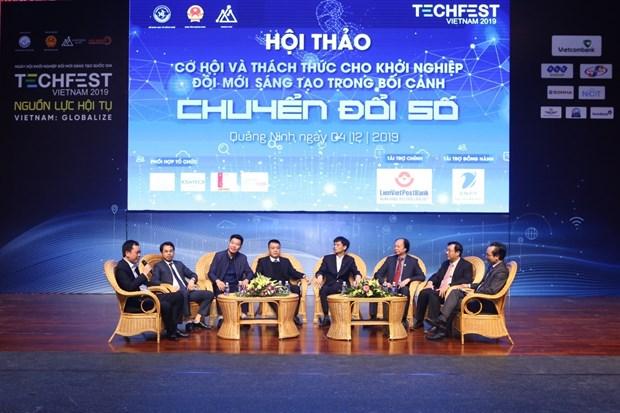越南创新创业日活动成为创新创业生态体系中各成分交互链接的平台 hinh anh 2