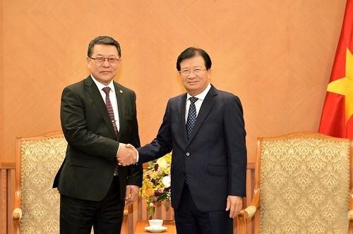 越南促进与蒙古的经贸合作 hinh anh 1