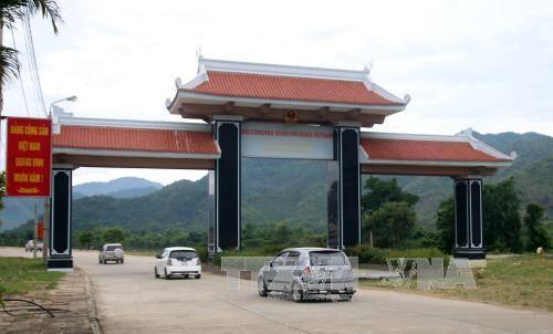 越南西宁省新南口岸正式升级为新南国际口岸 hinh anh 1