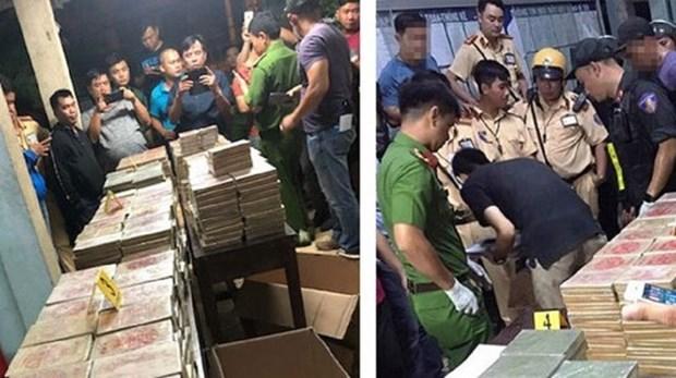 越南公安破获一起跨境贩毒案 抓获3名中国台湾毒贩 hinh anh 1