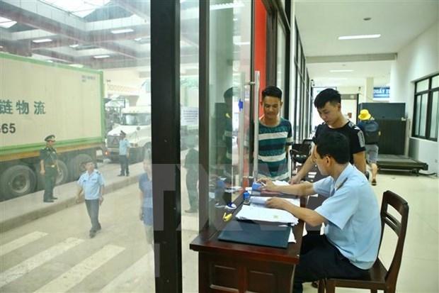 越南与美国签署海关互助协定 hinh anh 1