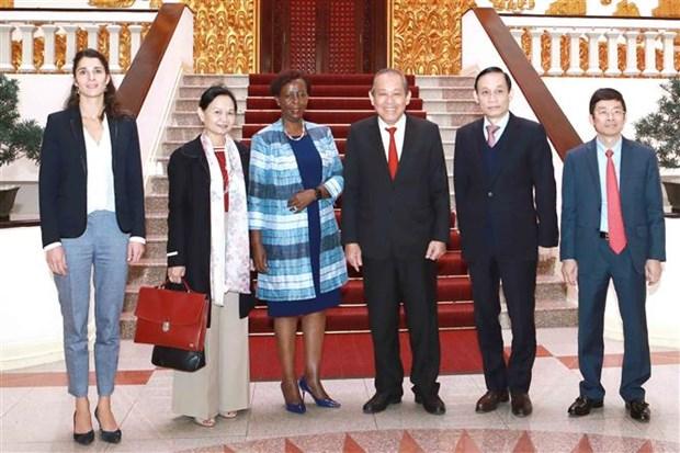 张和平副总理:越南不断为世界和平、安全与发展做出贡献 hinh anh 2