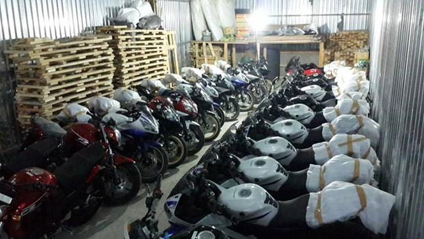印尼提出2025年出口100万辆摩托车的目标 hinh anh 1