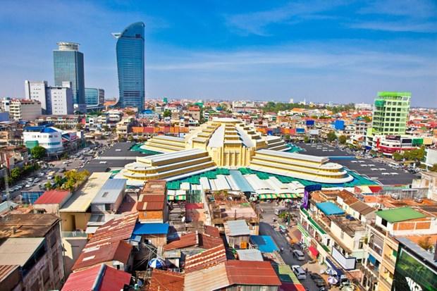 世行:柬埔寨经济增速放缓但仍能稳定地增长 hinh anh 1