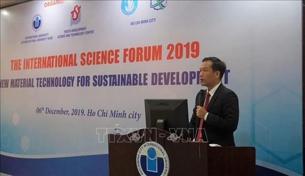 """""""新材料技术,促进可持续发展""""国际学术论坛在胡志明市开幕 hinh anh 1"""