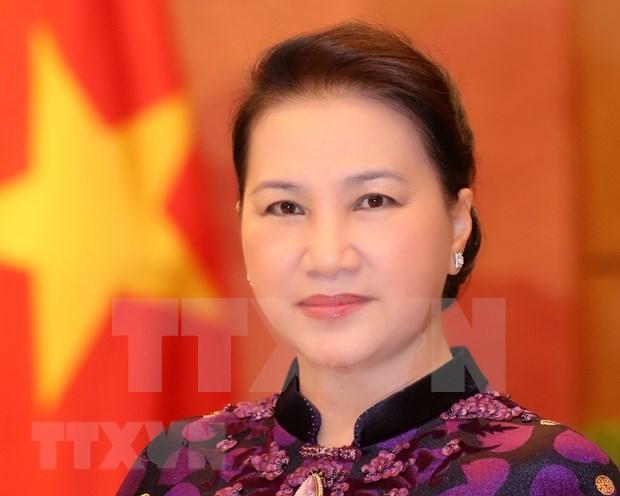 越南国会主席阮氏金银启程对俄罗斯和白俄罗斯进行正式访问 hinh anh 1