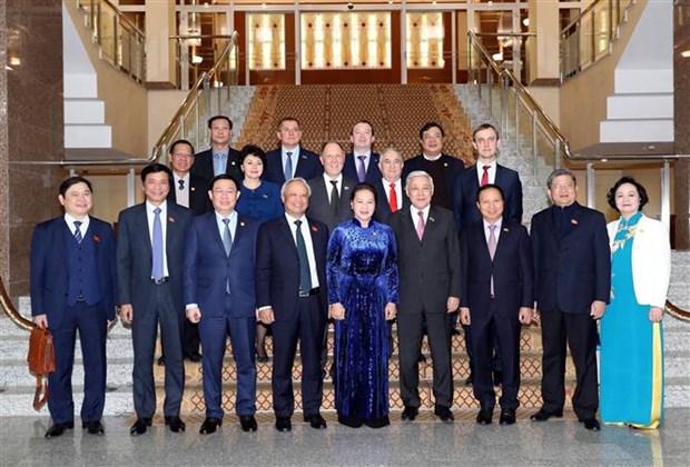 越南国会主席主席阮氏金银会见俄罗斯鞑靼斯坦共和国国务委员会主席 hinh anh 2
