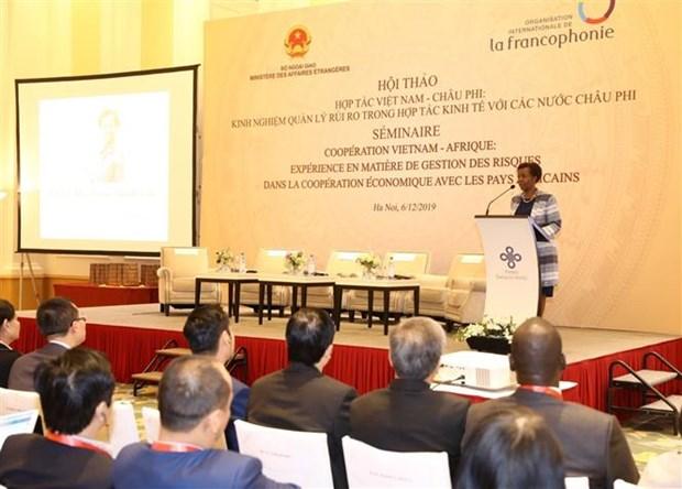 提升越南与非洲国家的经济合作效益 hinh anh 3