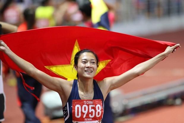 第30届东南亚运动会:越南代表团一日狂揽20金 hinh anh 2