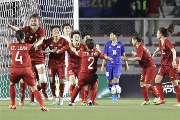 第30届东南亚运动会:越南国家女子足球队卫冕冠军 hinh anh 2